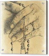 Faith Never Grows Old Acrylic Print
