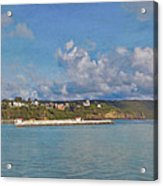 Fajardo Ferry Service To Culebra And Vieques Panorama Acrylic Print