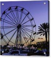 Fajitaville Ferris Wheel 2 Acrylic Print
