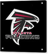 Falcons Atlanta T-shirt Acrylic Print
