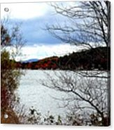 Fall 2015 Newfound Lake 1 Acrylic Print