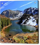 Fall At Ellery Lake Acrylic Print