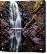 Fall At Fall River Falls Acrylic Print
