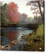 Fall at Griffin Mill Acrylic Print
