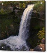 Fall At Minnehaha Falls Acrylic Print