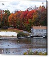 Fall At Schooley's Mountain Acrylic Print