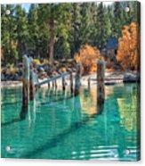 Fall At Skunk Harbor Lake Tahoe Acrylic Print