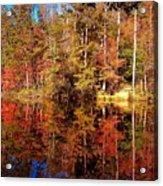 Fall At Table Rock Acrylic Print