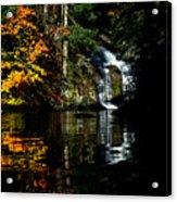 Fall At The Falls Acrylic Print