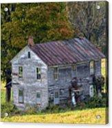 Fall At The Forgotten Farmhouse Acrylic Print