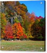 Fall At The Hook Acrylic Print