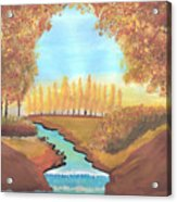 Fall At The Meadows Acrylic Print