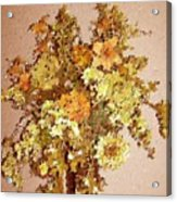 Fall Bouquet Acrylic Print