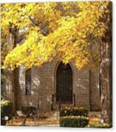 Fall Church Acrylic Print