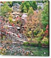 Fall Colors In Depth Acrylic Print