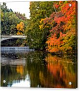 Fall Colors In New York State Acrylic Print