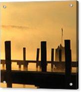Fall Docks Marker Acrylic Print