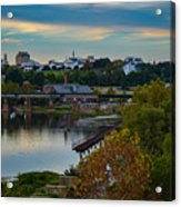 Fall Evening In Richmond Acrylic Print