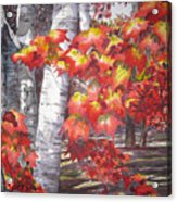 Fall Fantasy Acrylic Print