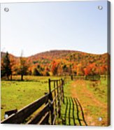 Fall Farm #4 Acrylic Print