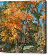 Fall Glory Acrylic Print