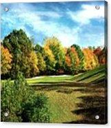 Fall Golf Course Beauty Acrylic Print