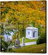 Fall Graves Acrylic Print