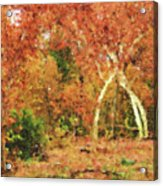 Fall Impression Acrylic Print