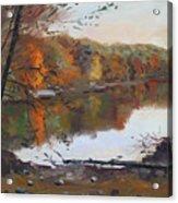 Fall In 7 Lakes Acrylic Print