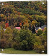 Fall In A Small Town Acrylic Print