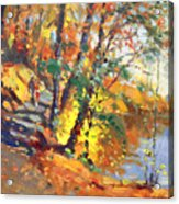 Fall In Bear Mountain Acrylic Print