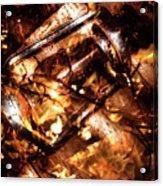 Fall In Fire Acrylic Print