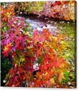 Fall In Gatlinburg Acrylic Print