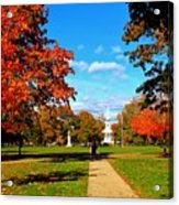 Fall In Guilford Acrylic Print