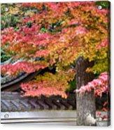 Fall In Japan Acrylic Print