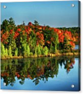 Fall In Northern Wisconsin Acrylic Print