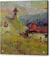 Fall In Orheiul Vechi Acrylic Print