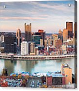 Fall In Pittsburgh  Acrylic Print by Emmanuel Panagiotakis