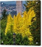 Fall In Portland Or 2 Acrylic Print
