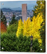 Fall In Portland Or Acrylic Print