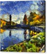 Fall In Riverfront Park Spokane Acrylic Print