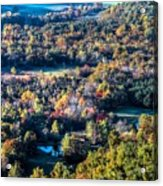 Fall In Shenandoah Valley Acrylic Print
