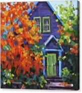 Fall In The Neighborhood Acrylic Print