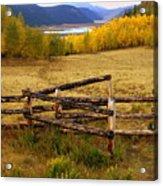 Fall In The Rockies 2 Acrylic Print