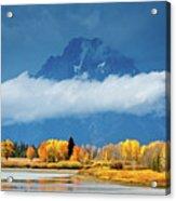 Fall At The Oxbow Acrylic Print