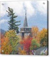 Fall In Upstate New York Acrylic Print