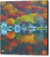 Fall Lake Acrylic Print