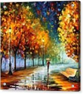 Fall Marathon Acrylic Print