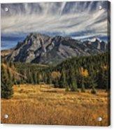 Fall Mountain Acrylic Print