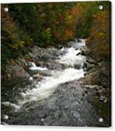 Fall Mountain Stream Acrylic Print